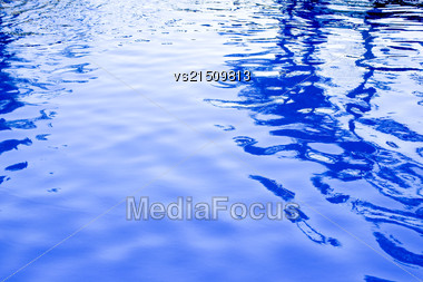 Blue Water Backround Stock Photo