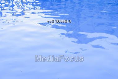Blue Water Backround Stock Photo