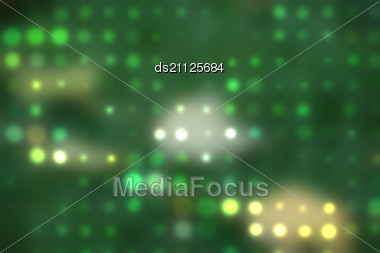 Blurred Spots And Colorful Dots Out Of Focus Background Stock Photo