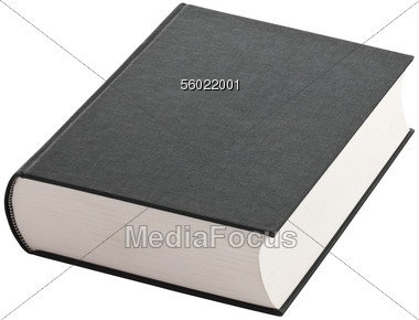 stock photo book with blank hard cover clipart image 56022001