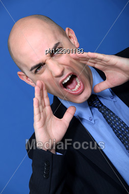Boss Is Mad Stock Photo