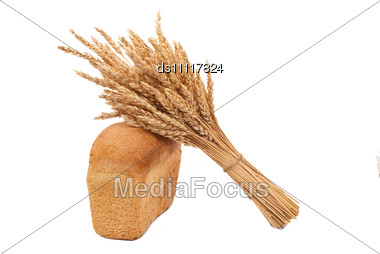 Bread With Ears Stock Photo