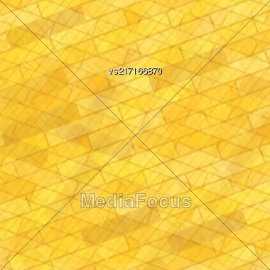 Brick Wall Yellow Background. Abstract Stone Pattern Stock Photo