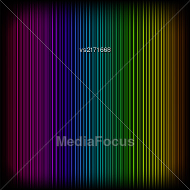 Bright Neon Lines Background. Abstract Colorful Neon Pattern. Colorful Neon Pattern. Striped Neon Background Stock Photo