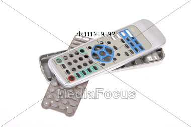 Broken Remote Control Stock Photo