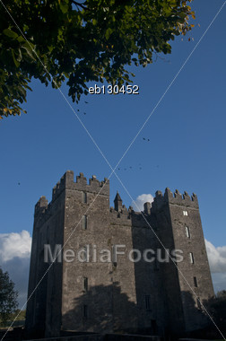 Bunratty Castle In County Clare, Ireland Stock Photo