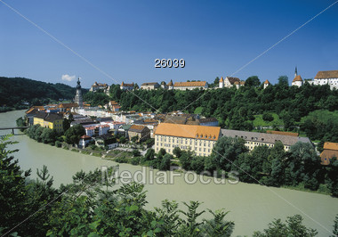Burghausen Stock Photo