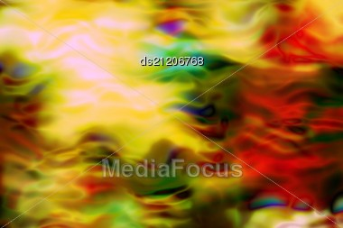 Burning Flames Of The Different Colors Background Stock Photo
