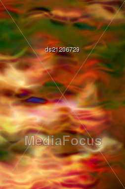Burning Flames Of The Red Color Background Stock Photo