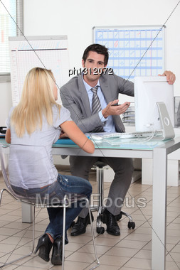 Business Appointment Stock Photo