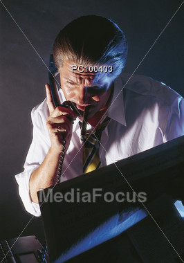Business Concerns Stock Photo
