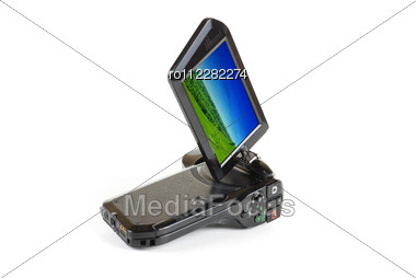 Camcorder Isolated Stock Photo
