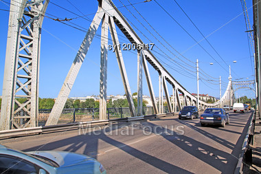 Car Bridge Stock Photo
