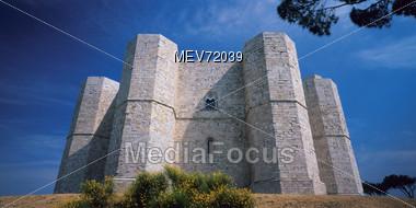 Castel del Monte, Italy Stock Photo