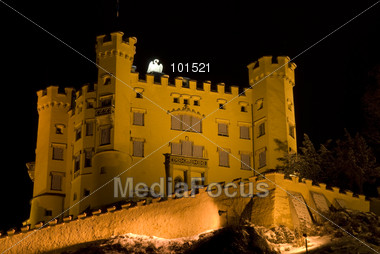 Castle Hohenschwangau, Bavaria, Germany Stock Photo