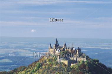 Castle Hohenzollern Stock Photo
