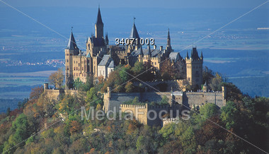 Castle Hohenzollern, Germany Stock Photo