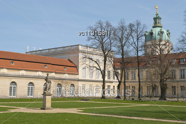 Charlottenburg Palace In Berlin, Germany Stock Photo