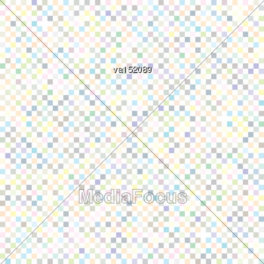 Checkered Texture Background Seamless Vector Illustration Stock Photo