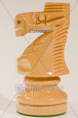 Chess horse Stock Photo
