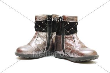 Children's Boots Stock Photo
