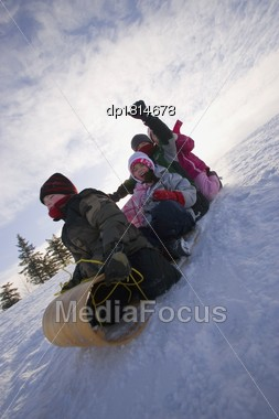 children tobogganing dp1814678 D Photos from Ben DeBigare (BADjojo) on Myspace