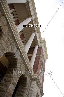 Christchurch New Zealand Earthquake Damage Revitalization Project Stock Photo