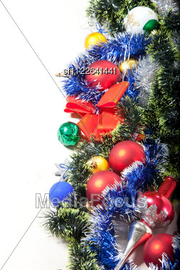 Christmas Decoration And Toy Stock Photo