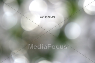 Christmas Gray Blur Background Stock Photo