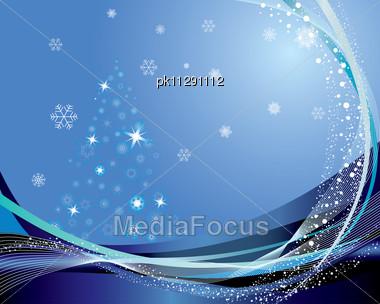 Christmas (New Year) Greeting Postcard. Stock Photo