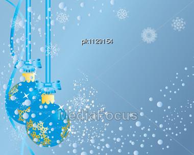 Christmas (New Year) Postcard. Stock Photo