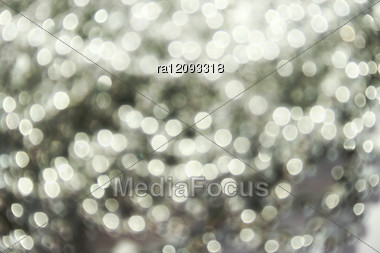 Christmas Spotted Sparkling Background. Stock Photo
