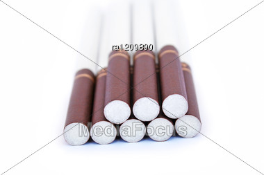 Cigarettes Stock Photo