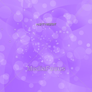 Circle Purple Light Background. Round Purple Wave Pattern Stock Photo