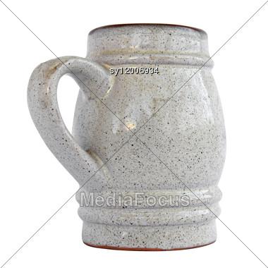 Clay Mug Stock Photo