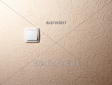 Close-up Of An Russian Electrical Point Switches In The On/off Position Stock Photo