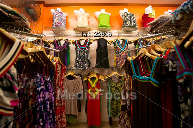 Store clothing racks. Cheap online clothing stores