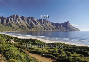 Coast near Kapstadt Stock Photo