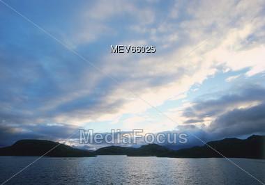 Coast of Scotland Stock Photo