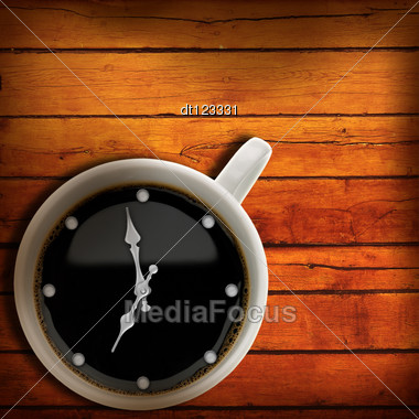 Coffee Time. Abstract Backgrounds For Your Design Stock Photo