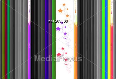 Color Pencils. Stock Photo