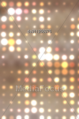 Colorful Background Illustration Of Colored Dots And Blur Stock Photo