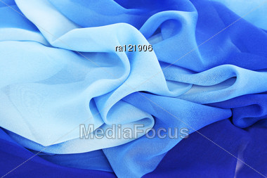 Colorful Fabric As A Background. Stock Photo