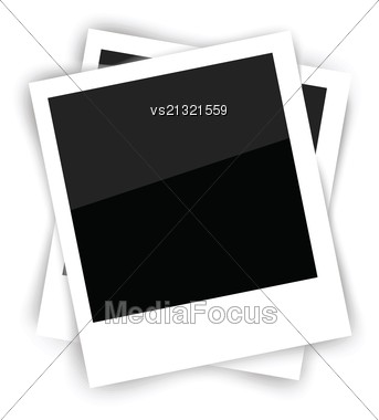 Colorful Illustration With Frames For Your Design Stock Photo