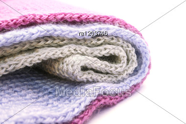 Colorful Knitwear Stock Photo
