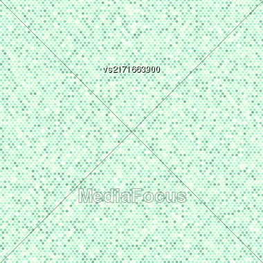 Comics Book Background. Green Halftone Pattern. Dotted Background Stock Photo