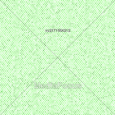 Comics Book Background. Halftone Pattern. Green Dotted Background Stock Photo