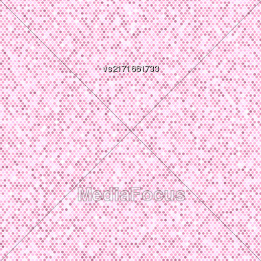 Comics Book Background. Halftone Pattern. Pink Dotted Background Stock Photo