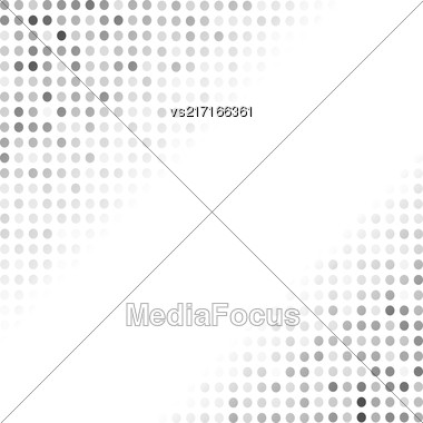 Comics Book Background. Halftone Patterns. Grey Dotted Background Stock Photo