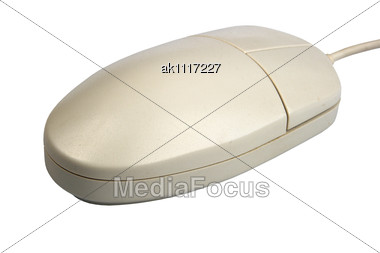 Computer Mouse. New Condition. Close-up Stock Photo